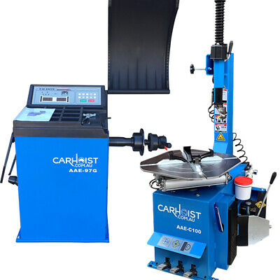 Tyre Changer Fitting Machine, Wheel Balancer Balancing Machine, Tyre Machine