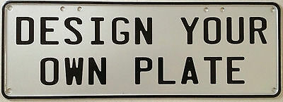 Number Plate - You Design It - Perfect For Man Cave, Pool Room, Bar Or Gift