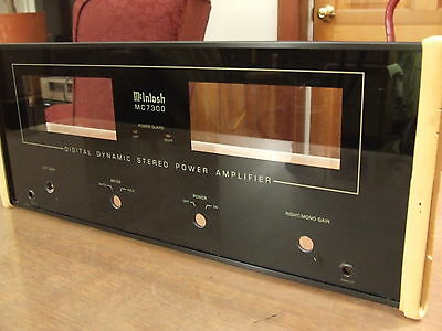 McIntosh MC-7300 Brand New NOS Complete Faceplate with Glass