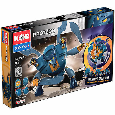 Geomag KOR PROTEON Blatta 103 pcs Variety Game Set Twist and Shape Made In Swiss