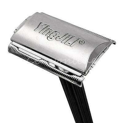 Vintage Classic Stainless Steel Double Edge Shaving Blades Shaver Safety Razor