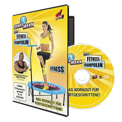 POWER MAXX Fitness Trampolin Training TVdoo DVD Fitness