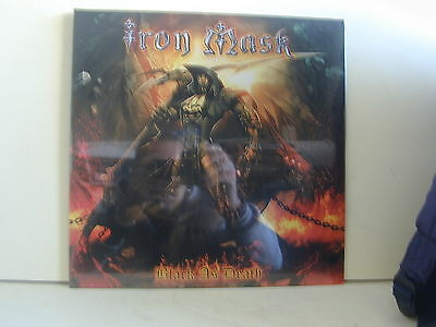 2 Lp-Iron Mask-Black As Death-Germania 2011-Sigillato-