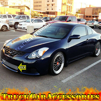 For 2008 2009 08 09 NISSAN Altima Coupe 1PC Lower Bumper Polished Grille  OVERLAY