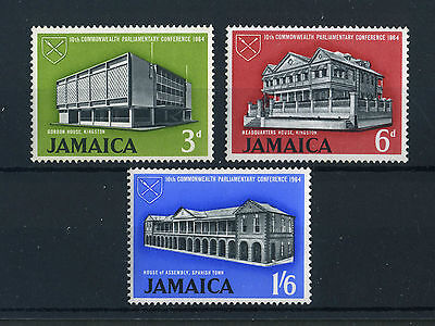 Jamaica 1964. Commonwealth Conference. Complete set of 3. MLH. Og.