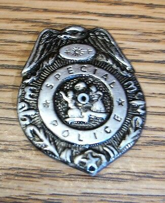 MINI POLICE BADGE SPECIAL POLICE VERY SMALL WITH PIN