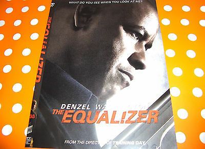 THE EQUALIZER DENZEL WASHINGTON - 2014 DVD - SHIP NEXT DAY