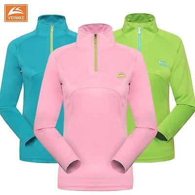 Spring Summer Woman's Long Sleeve Breathable Quick Drying Running T Shirt Tops