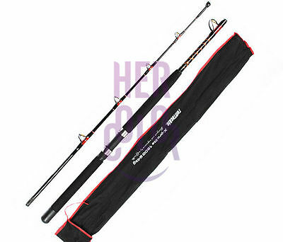Extra Heavy Trolling / Jigging Boat Fishing Rod 1.8m / 5.9ft 2 Sections