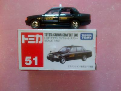 Tomy Takara 51 Diecast Toyota Crown Comfort Taxi (Boxed)