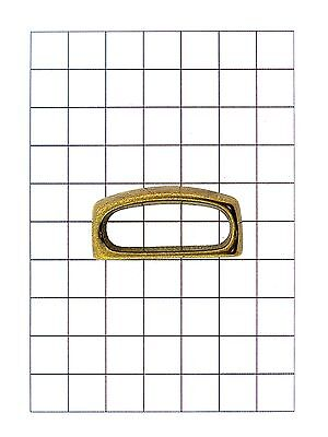Leathercraft Hardware Brass Belt Loop for Leather 38mm x 18mm
