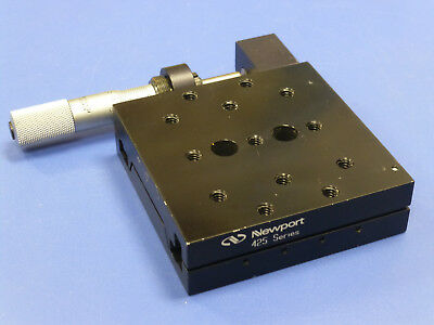 Newport 425 Precision Linear Translation Stage with Vernier Micrometer