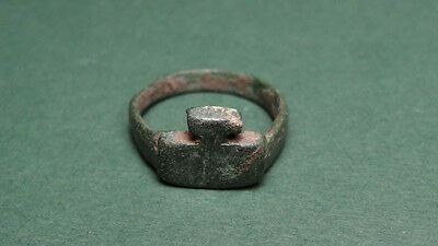 Bronze Key Ring Roman 100-300 Ad