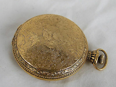 Vintage GOLDtone Mirrored COMPACT GORGEOUS!