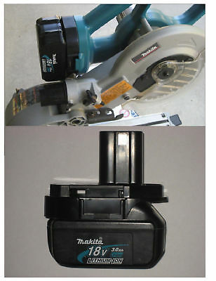 Makita Miter Saw Only 18V Battery Adapter Lithium LXT Cordless  FREE U.S. SHIPPG