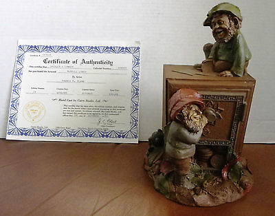 Vintage Thomas Clark's Merrill and Lynch Gnome with Certificate of Authenticity