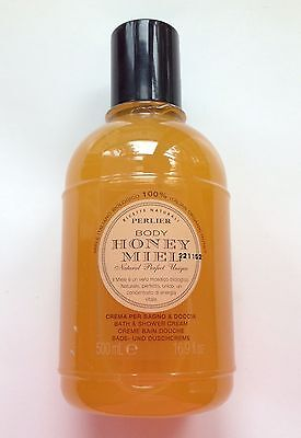 "Perlier Honey Miel ""100% Organic Honey"" Bath & Shower Cream ~ 16.9 fl oz ~ HSN!"