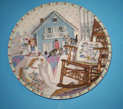 "KNOWLES COLLECTOR PLATE, """"PLAYTIME"""" PLATE 3750-1, 5TH ISSUE,BY IMGMIRE, C.O.A"