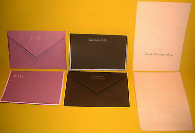 Philippines IMELDA MARCOS Personal Palace Stationary w/Seal - (6) PIECE SET