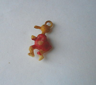 Cool Vintage Long Billed Red Coat Donald Duck or Donald Duck Type Charm