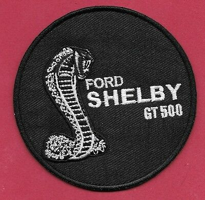 "New Ford 'Shelby GT 500 ' 3""   Inch  Iron on Patch Free Shipping"