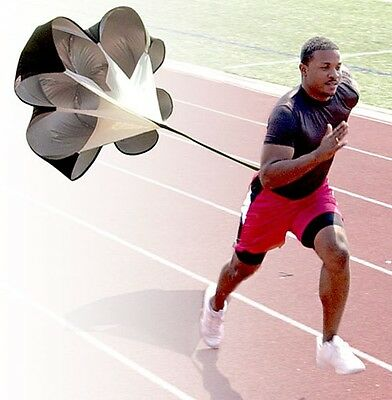 "56"" Speed Training Resistance Parachute Speed Chute Running Umbrella"