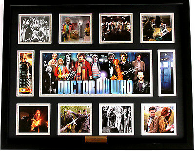 New Doctor Who Signed Limited Edition Memorabilia