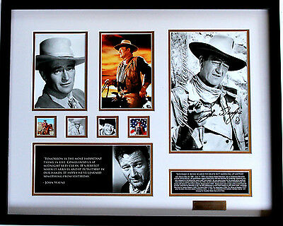 New John Wayne Signed Limited Edition Memorabilia