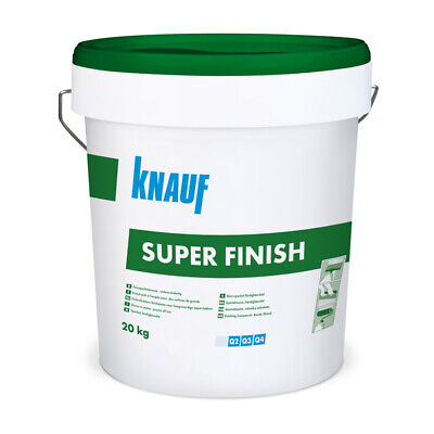 KNAUF Super Finish 20kg Feinspachtelmasse Fertigspachtel Fugenspachtel Spachtel