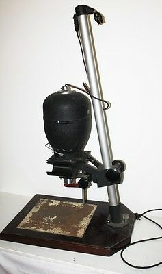 Vintage Photographic Enlarger ENVOY / ROSS Resolux 9cm f4 Lens Mounted  DELIVERY