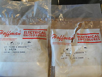 NEW HOFFMAN FILTER AND BRACKETS A-FLT34 LOT OF 2