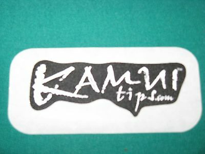 5 Kamui Pool Cue Tip Patch for Billiard Shirts etc.