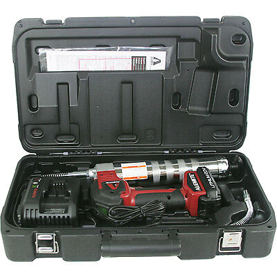 Alemite 596-A 20-Volt Lithium-Ion Cordless Grease Gun Kit with LCD Display