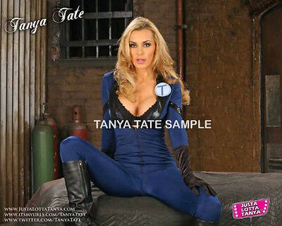 8x10 Cosplay Homage to the Invisible Women Open Leg Print Signed By Tanya ForYou