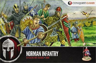 Conquest Games Plastic 28mm Norman Infantry