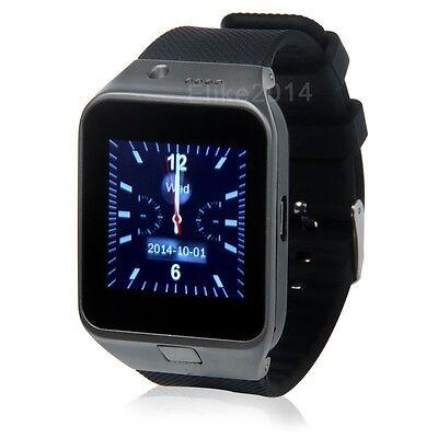 "GV09 1.5"" Touch Screen Sport Smart Wrist Watch Cell Phone Camera Bluetooth GSM"
