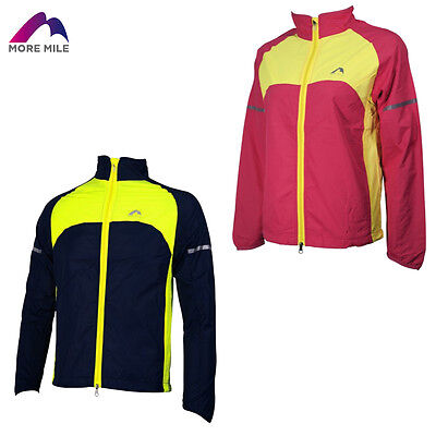 More Mile Kids Youths Junior Rain Running Cycling Wind Jacket Coat Top