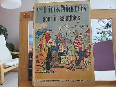 Pieds Nickeles Sont Irresistibles N°9 Forton Couverture Tres Usagee Cahier Tbe
