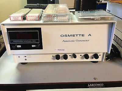 Precision Systems Osmette A 5002 Automatic High Sensitivity Osmometer