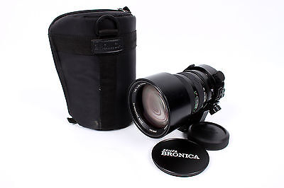 Bronica ETRS 100-220mm f/4.8 PE Lens With Case and Caps