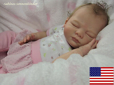 "Cute Reborn Baby Doll KIT/SCULPT ""Johanna"" by Karola Wegerich"