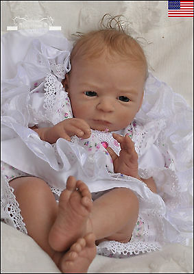"Reborn Baby Doll KIT/SCULPT ""Nele"" by Gudrun Legler - Nicky Creation"