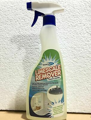 Limescale Scale Remover Cleaner Shower Tap Sink Bathroom Kitchen Restore Shine