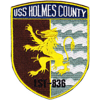 LST-836 USS Holmes County Patch