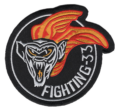 VF-33 Aviation Fighter Attack Squadron Thirty Three Patch