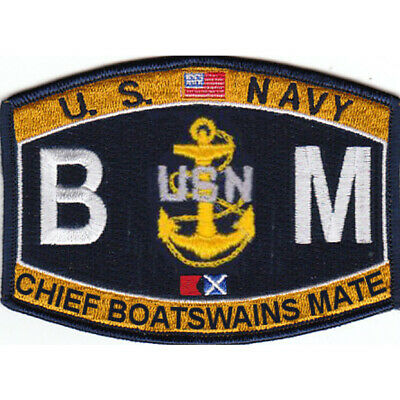 Deck Rating Chief Boatswain's Mate Patch