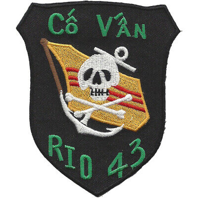 RID - 43 River Interdiction Division Forty Three Patch