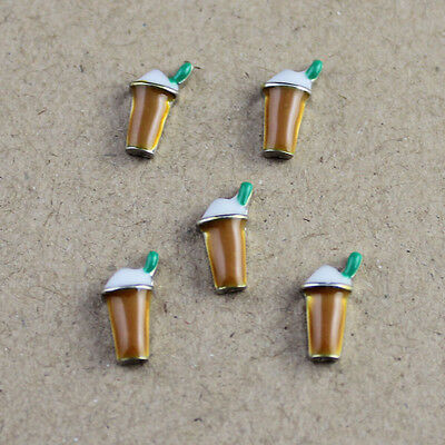 Hot sell! 5PCS floating charm for glass living memory locket free shipping A72