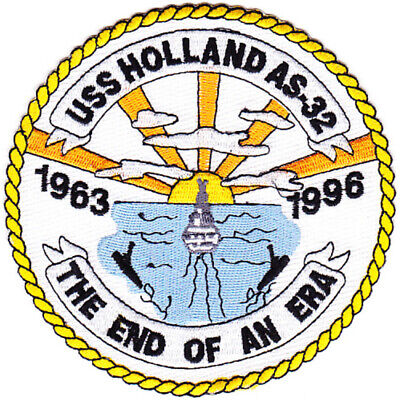 AS-32 USS Holland  Patch - F Version
