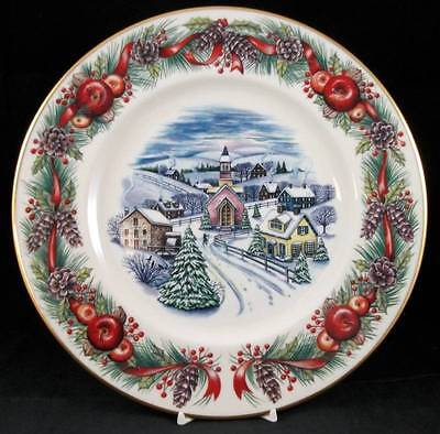 Lenox VILLAGES AROUND THE WORLD Collectible Plate 1st Year-2000 GREAT CONDITION